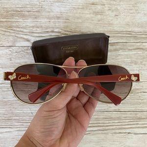 Authentic COACH Brown Sunglasses